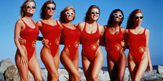 Kelly-Packard-Mitzi-Kapture-Donna-DEricco-Shawn-Weatherly-Traci-Bingham-Angelica-Bridges-Baywatch